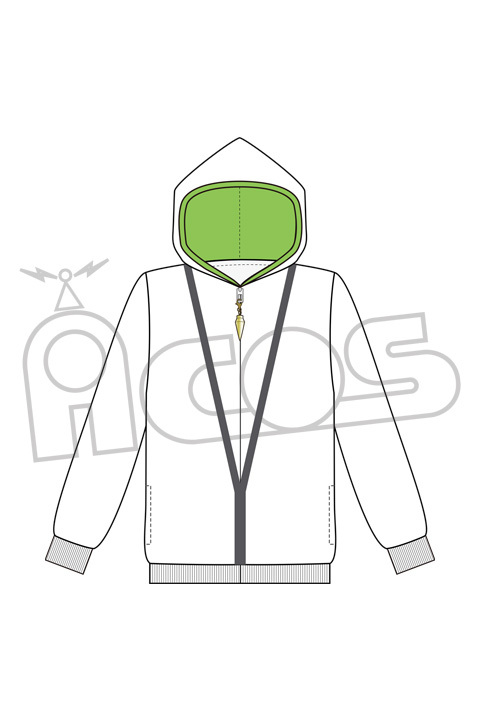 Hoodie - Fate/Grand Order / Kingu (Fate Series) Size-S