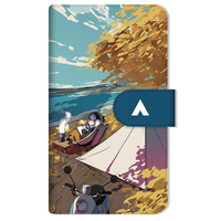 Smartphone Wallet Case for All Models - Smartphone Cover - Yuru Camp / Shima Rin