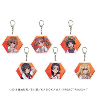 Acrylic Key Chain - Toaru Kagaku no Railgun