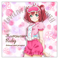 Cushion Cover - Love Live! Sunshine!! / Kurosawa Ruby