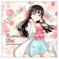 Cushion Cover - Love Live! Sunshine!! / Kurosawa Dia