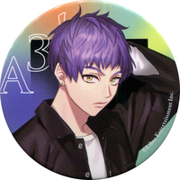 Badge - A3! / Hyodo Kumon & Summer Troupe & Spring Troupe