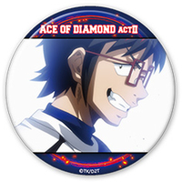 Trading Badge - Ace of Diamond / Seto Takuma