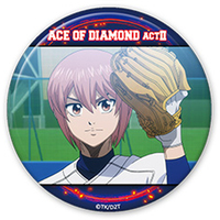 Trading Badge - Ace of Diamond / Kominato Haruichi