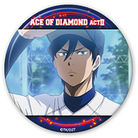 Trading Badge - Ace of Diamond / Furuya Satoru
