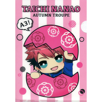 Plastic Folder - A3! / Winter Troupe & Autumn Troupe & Nanao Taichi
