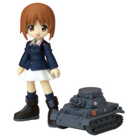 Action Figure - GIRLS-und-PANZER / Anglerfish Team & Miho