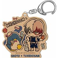 Acrylic Key Chain - My Hero Academia / Todoroki Shouto & Tuxedo Sam