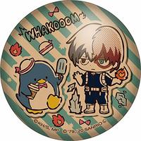 Badge - My Hero Academia / Todoroki Shouto & Tuxedo Sam