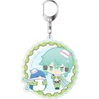 Big Key Chain - Sword Art Online / Shinon & Tuxedo Sam
