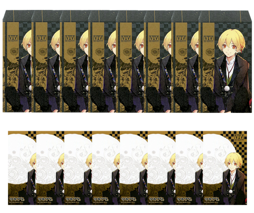 Illustration Sheet - Petit Envelope - Tsukiuta / Shiwasu Kakeru