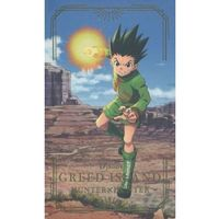 Character Card - Hunter x Hunter / Gon Freecss