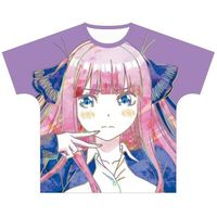 T-shirts - Ani-Art - The Quintessential Quintuplets / Nakano Nino Size-XL