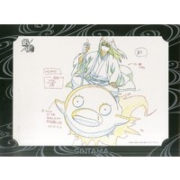 Original Drawing (Replica Illustration) - Illustration Sheet - Gintama / Katsura & Elizabeth