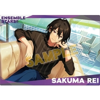 Illustration Sheet - Ensemble Stars! / UNDEAD & Sakuma Rei