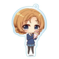 Trading Acrylic Key Chain - GIRLS-und-PANZER / Orange Pekoe