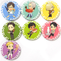 (Full Set) Trading Badge - Yuri!!! on Ice