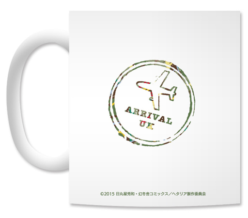 Ani-Art - Mug - Hetalia / United Kingdom (Arthur)