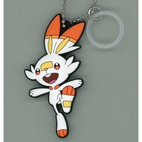 Rubber Key Chain - Pokémon / Scorbunny