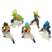 (Full Set) Trading Figure - Dragon Ball / Gogeta & Trunks & Vegeta