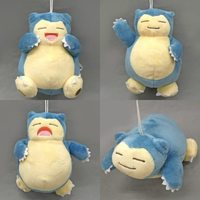 (Full Set) Plushie - Pokémon / Snorlax (Kabigon)