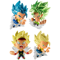 (Full Set) Trading Figure - Dragon Ball / Gogeta & Bardock