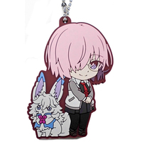 Rubber Key Chain - Fate/Grand Order / Fou (Fate Series) & Mash Kyrielight