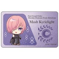 Card Stickers - Fate/Grand Order / Mash Kyrielight