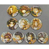 (Full Set) Trading Badge - Saiyuki / Goku & Konzen Douji