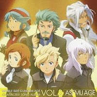 Character song - Mobile Suit Gundam AGE / Woolf Enneacle & Zeheart Galette & Asemu Asuno