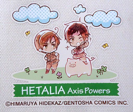 Tote Bag - Hetalia / Spain & Romano