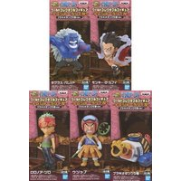 (Full Set) World Collectable Figure - ONE PIECE / Monkey D Luffy