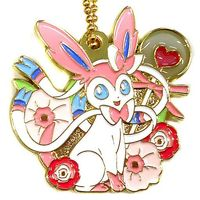 Metal Charm - Pokémon / Eevee & Sylveon