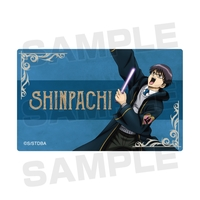 Card Stickers - Gintama / Shimura Shinpachi