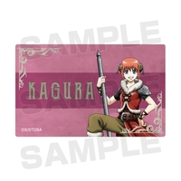 Card Stickers - Gintama / Kagura