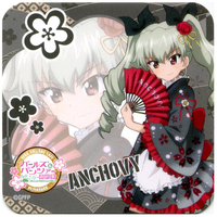 Coaster - GIRLS-und-PANZER / Anchovy