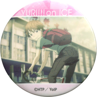 Trading Badge - Yuri!!! on Ice / Ji Guanghong