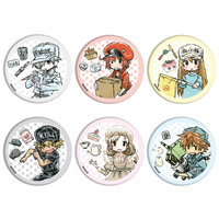 (Full Set) GraffArt - Hataraku Saibou (Cells at Work!)