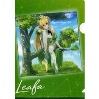 Plastic Folder - Sword Art Online / Leafa