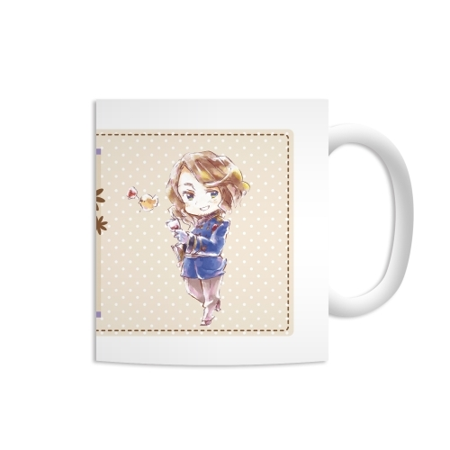 Mug - Ani-Art - Hetalia / United Kingdom & France