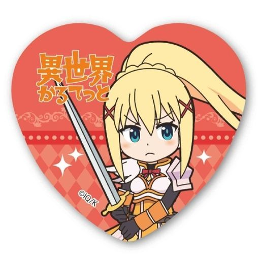 Badge - Youjo Senki (Saga of Tanya the Evil) / Darkness (KonoSuba)