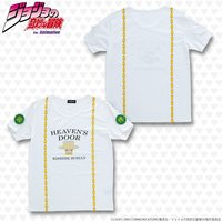 T-shirts - Jojo Part 4: Diamond Is Unbreakable / Heaven's Door & Rohan Size-L