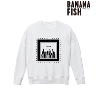 Sweatshirt - BANANA FISH / Ash Lynx Size-XL