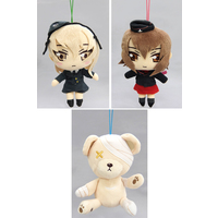(Full Set) Plushie - GIRLS-und-PANZER / Shimada Arisu & Maho