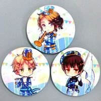 Badge - Hetalia / United Kingdom & France & Japan