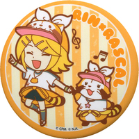 Trading Badge - VOCALOID / Rin & Miku