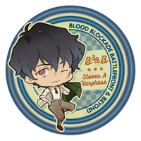 Trading Badge - Blood Blockade Battlefront / Steven A Starphase