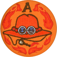 Brooch - ONE PIECE / Ace