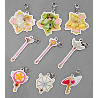 (Full Set) Key Chain - Card Captor Sakura / Syaoran & Kinomoto Sakura & Cerberus