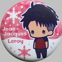Trading Badge - Yuri!!! on Ice / Jean Jack Leroy